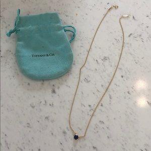 Tiffany's Elsa Peretti 18K gold necklace